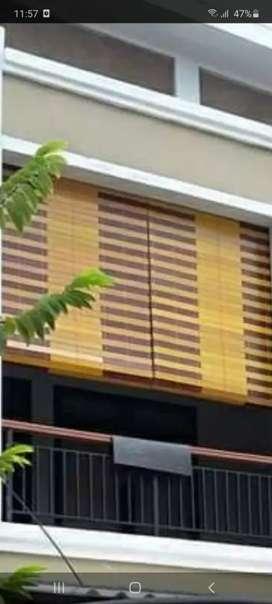 Jual tirai kayu motif bervariatif