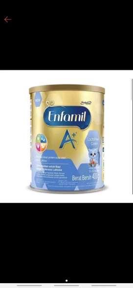 Enfamil A + Lactofree 0-12 bulan 400 gr