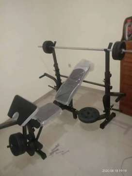 New bench press set lengkap