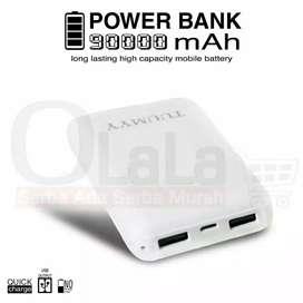 Power Bank 90000mah 2usb Flash OLL