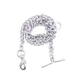 Dog chain single piece