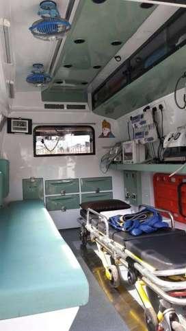 Ambulance all equipment fittgs - Oxygen bottle
