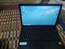 Hp laptop new model core i5 processor windows 10 used 5month only new