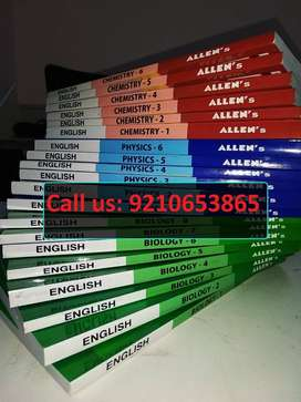 "Allen Medical NEET & AIIMS Study Material ""fresh set used"" Module"