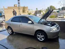 X corolla 2003 Full option Golden color Good condition