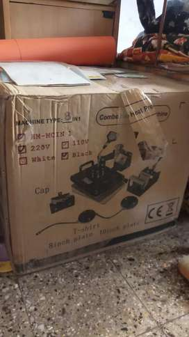 I want to sell my unuse combo heat press machine