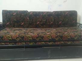 Sofa cum Bed with storage in good condition
