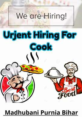 I want cook for small cafeteria
