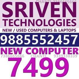 new computers - SRIVEN TECHNOLOGIES benz circle vijayawada