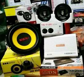 Udah Plus Pasang,Sub & Power ADS+Speaker Pioneer+Tweeter+Box mdf+Kabel