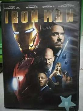 DVD ironman (Marvel Cinematic Universe) 1,2,3 Original