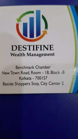 Need candidate for a Wealth Management company called DestifineWealth