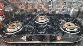 3 burner jumbo gas stove (10 days older)