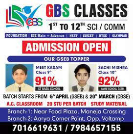 Subject expert of maths,scienc, ss,English  for Std 1- 10 th can apply
