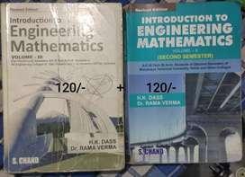 Engineering Mathematics-2 and Mathematics-3 H.K. Dass