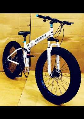 Land rover fat tyre imported folding cycle