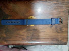 Original high-quality Blue 23 mm Lacoste NATO sports Strap 1500  only