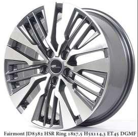 Velg HSR Fairmont Ring 18 untuk Mobil Toyota Camry Hybrid