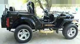 Hunter modified jeep