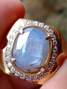 Light blue sapphire Ceylon Nike geni