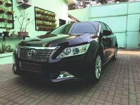 Toyota Camry 2.5V Hitam 2013 Sgt Mulus & Sgt Terawat, Simpanan, Low KM