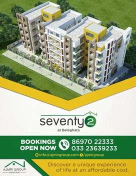 2BHK affordable apartment at Beleghata