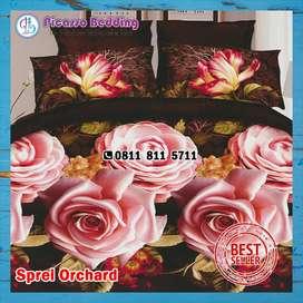 Bedcover Set Microtencel Orchard Siap Kirim Hingga Padang