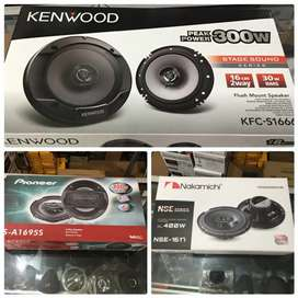 Speaker mobil murah coaxial(kenwood pioneer nakamichi)