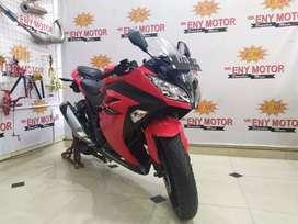 Special promo eny motor SDA! Kawasaki Ninja 250 FI th.2017 km 14 rb