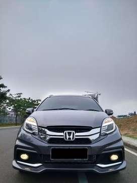 Honda Mobilio RS AT Matic 2014 Abu Abu Grey, Low KM, DP Termurah