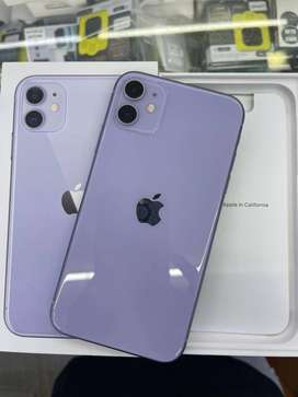 buy good condition of i phone 11 with kit free home delivery  no excha