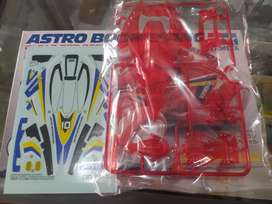 Body astro boomerang clear red original
