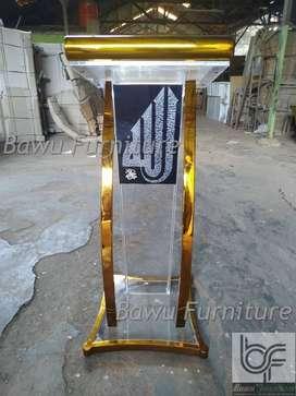 Mimbar Masjid Minimalis Sederhana Produsen Mimbar Acrylic 83