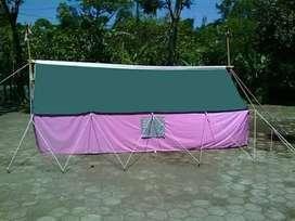 Tenda pramuka berbagai ukuran