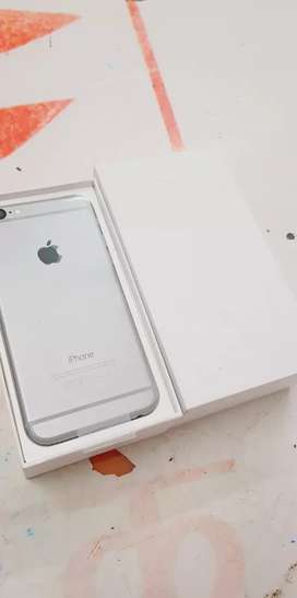 We are selling iPhone 6 64gb with bill box six months sellers warranty