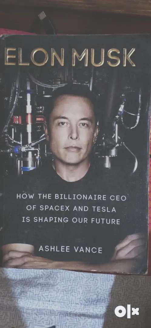 Elon musk CEO of spacex and tesla creating new world.