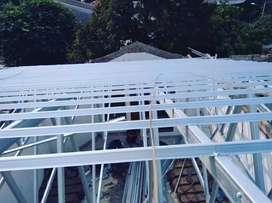 Kanopi dan rangka atap baja ringan murah