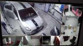 SUPER HEMAT! CCTV AHD 4 KAMERA KOMPLIT!!