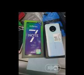InFinix NOTE7 6GB 128GB with warranty
