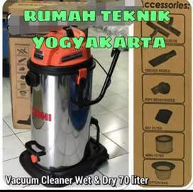 Mesin vakum cleaner, lakoni vortex 70 liter, by makita