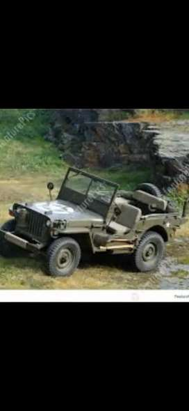 WILLY OPEN OLD MODIFIED JEEP