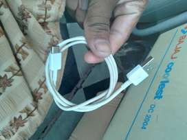 Charger samsung c types cable with adpoter
