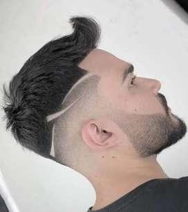 Gents hair dreser chahiye Good sallery
