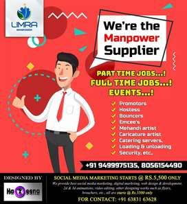 We Provide part-time/full-time job to students and other candidates