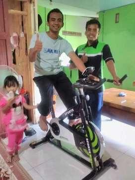 Alat Olahraga Mantap sepeda statis Spining