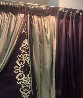 Home used curtains.. blinds nd show curtains