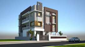 2bhk luxury flat at 2nd floor near hotel lords