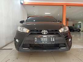 Toyota Yaris S TRD Sportivo  1.5 A/T 2016, hitam,mobil bagus,istimewa