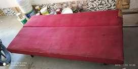 Sofa, 6 feet, cum bed