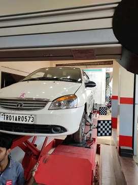 Tata Indica 2015 CNG & Hybrids 44000 Km Driven Tata indica e max cng+p